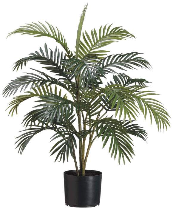 "Artificial Areca Palm Tree Plant in Pot - 36"" Tall"