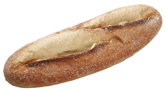 Artificial French Baguette Bread Loaf 11 Inches Long x 3 Inches Wide