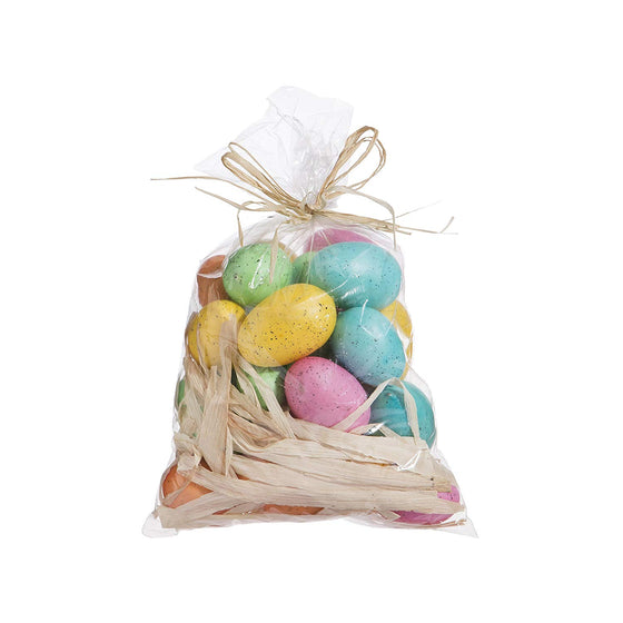 Set of 30 Speckled Easter Eggs: 2 Inches to 1 inch Easter Eggs by RAZ Imports