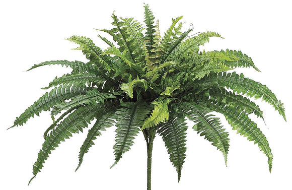"Afloral Silk Boston Fern Bush - 23"" Tall"