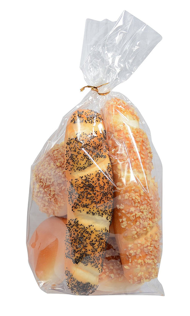 Artificial Bread and Rolls - Fake Bread and Rolls For Display, 6 Pieces