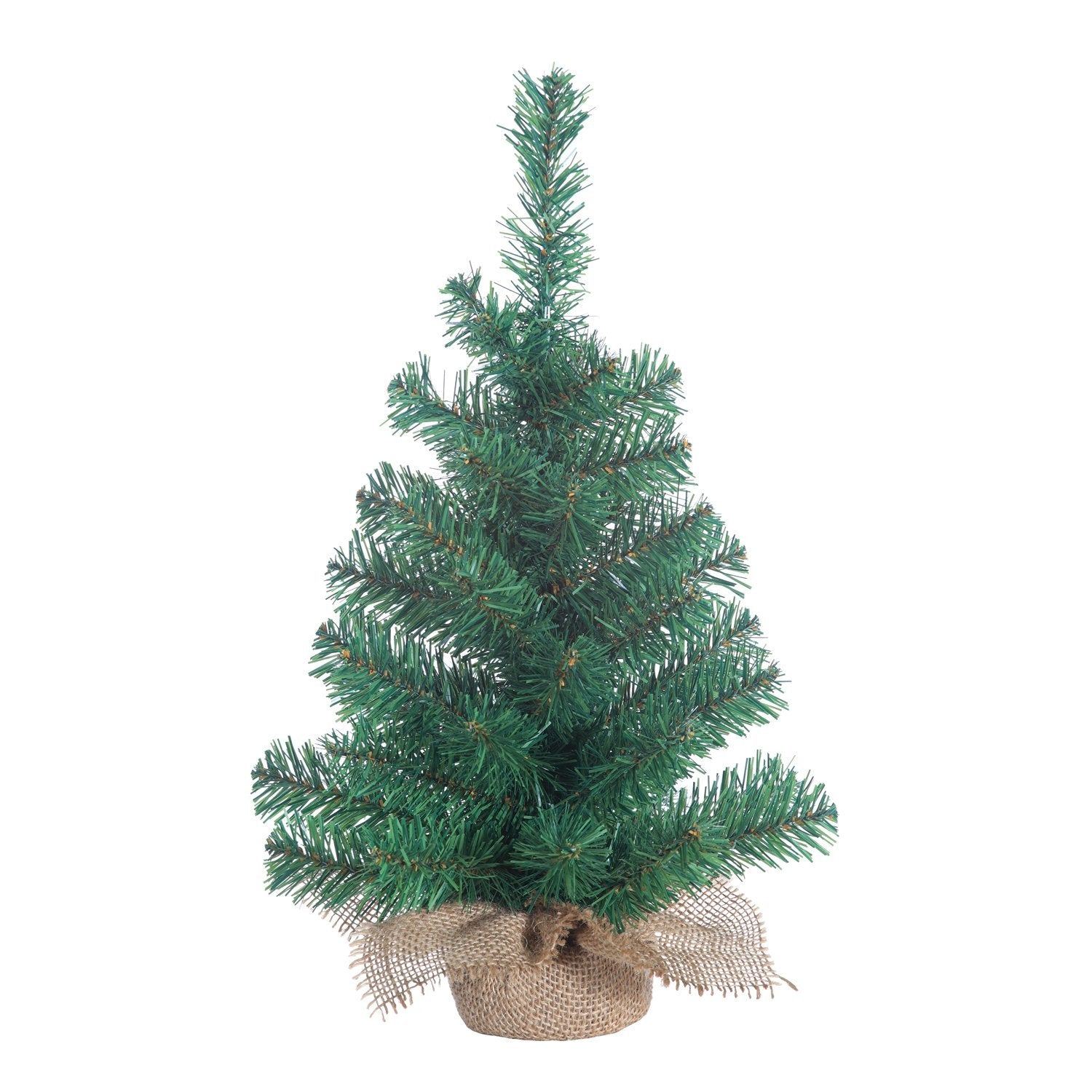 Artificial Christmas Tree Branches.Small Christmas Tree Indoor Gerson Tabletop 18 Inch Pine Tree With Burlap Base Miniature Artificial Green With Lots Of Branches For Decorations And