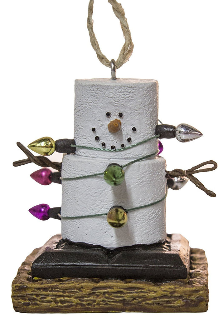 Midwest S'Mores Wrapped Up in Lights Christmas/Everyday Ornament