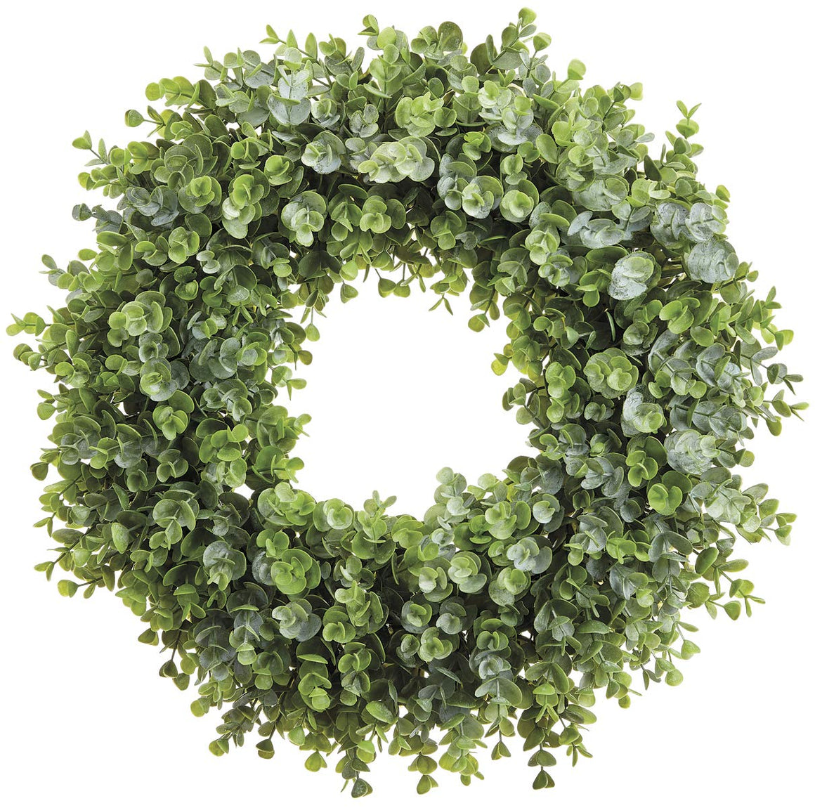 Allstate 19 Inch Artificial Indoor/Outdoor Eucalyptus Wreath