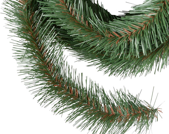 TenWaterloo 18 Foot Roping Garland, Christmas Artificial Pine Garland