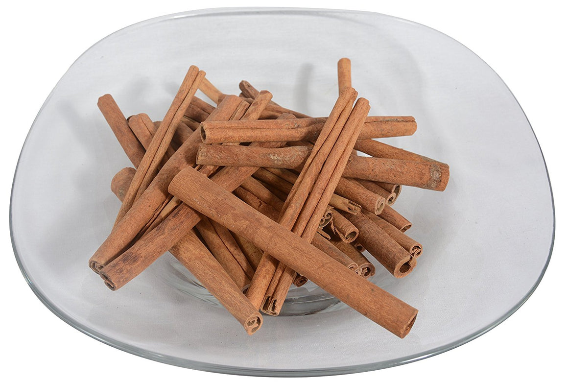 Cinnamon Sticks - 6 Inch Long Cinnamon Sticks Fragrant Bowl Filler, Decorative Use, 1 Pound Package