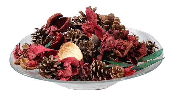 Ten Waterloo Potpourri Apple Spice Scented Bowl and Vase Filler for Holiday and Christmas Decorating