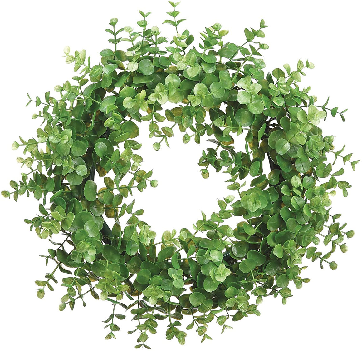 TenWaterloo 14 inch Artificial Eucalyptus Wreath