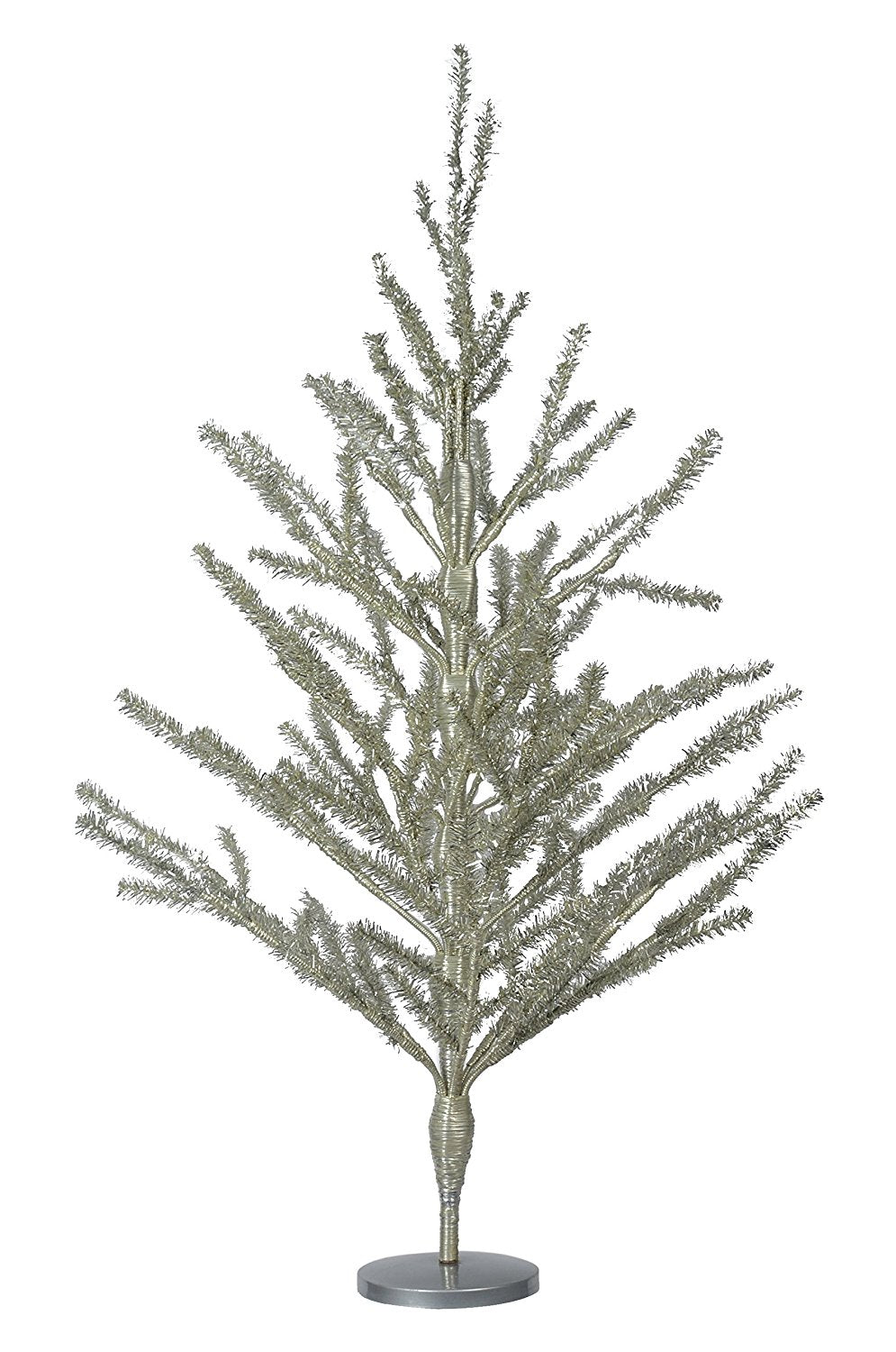 30 inch high silver tinsel christmas tree - Silver Tinsel Christmas Tree