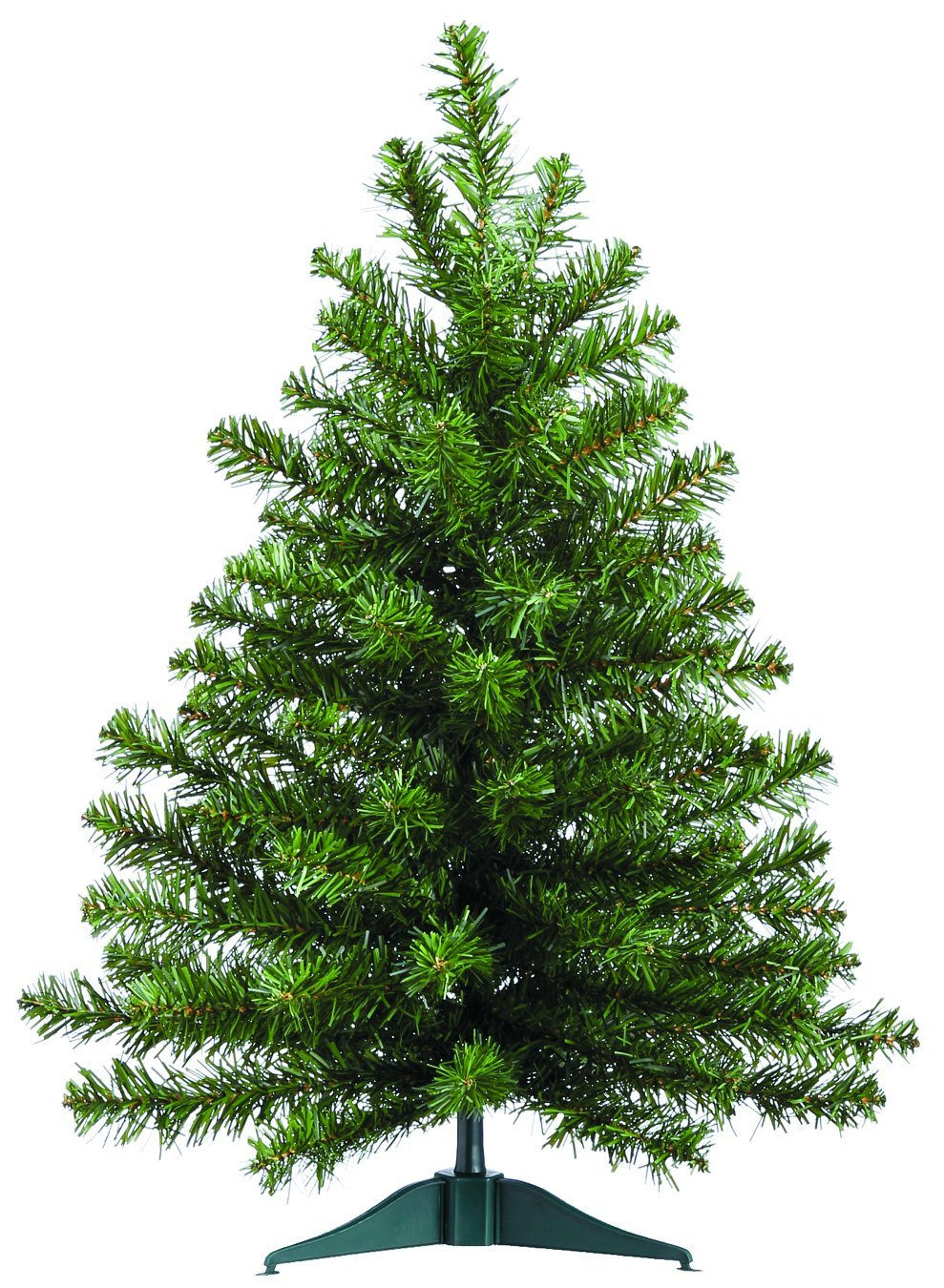 Balsam Christmas Trees.2 Foot High X 16 Inch Wide Artificial Christmas Balsam Pine Tree 75 Tips On Base