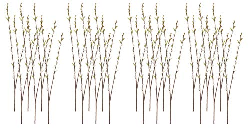 "36"" Pussy Willow Spray Gray (Pack of 24)"