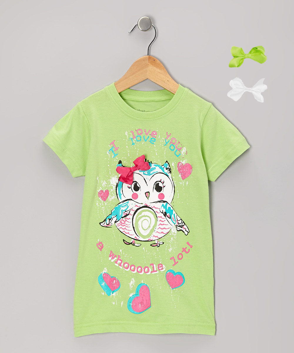 Mi Amore Gigi Owl Interchangeable Bow Top