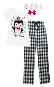 Mi Amore Gigi Interchangeable Penguin Pajama Set