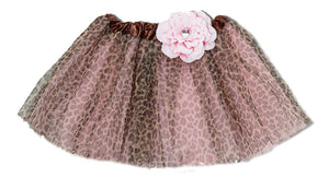 Mi Amore Gigi Flower Animal Print Tutu Skirt (Available in Multiple Colors/Styles)