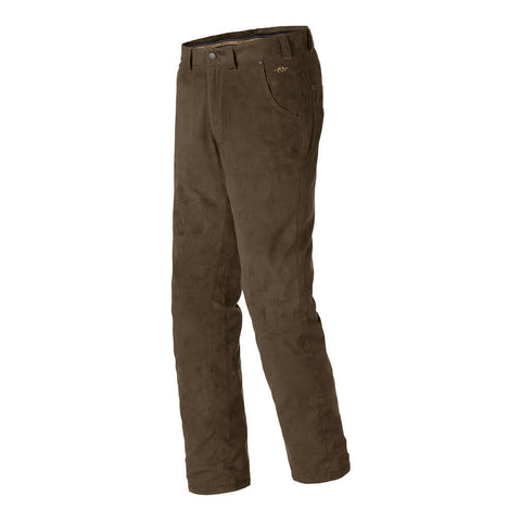 Blaser Mens Suede Trousers Light Markus