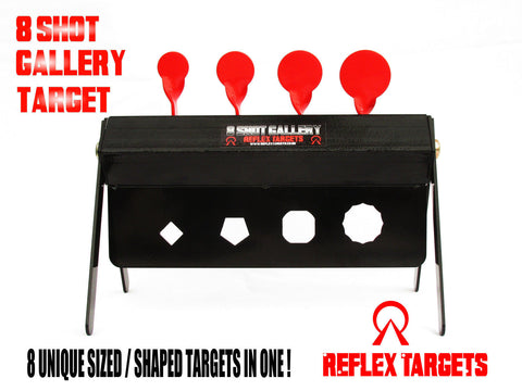 "Reflex Metal Targets ""8 Shot Gallery"" - Wildstags.co.uk"
