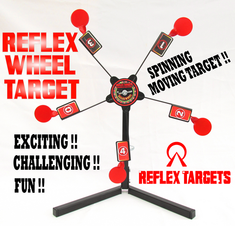 "Reflex Metal Targets ""Reflex Wheel"" - Wildstags.co.uk"
