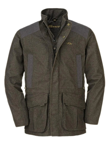 Blaser Mens Waterproof Graphite Shooting Jacket