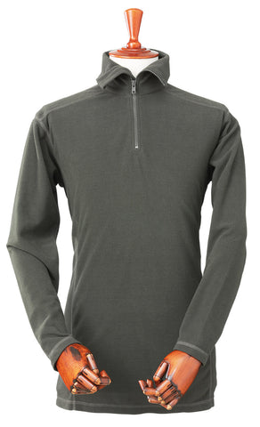 Laksen Newton Microfibre Zip Neck Shirt - Wildstags.co.uk