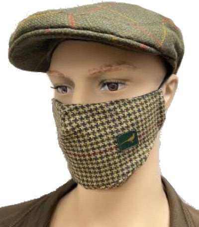 Laksen Tweed Face Mask