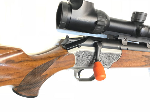 Blaser Custom Orange Bolt Knob - Wildstags.co.uk