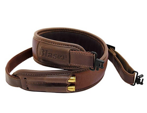 Blaser Leather Rifle Sling - Wildstags.co.uk