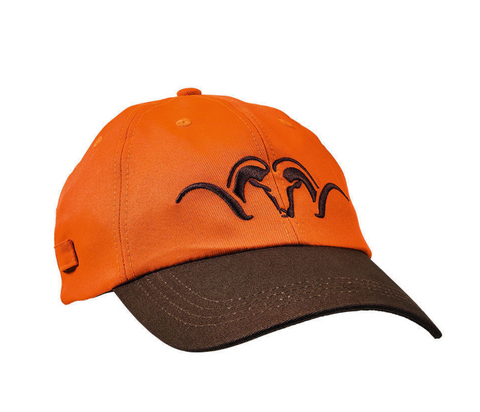 Blaser Cap Brown/Blaze - Wildstags.co.uk