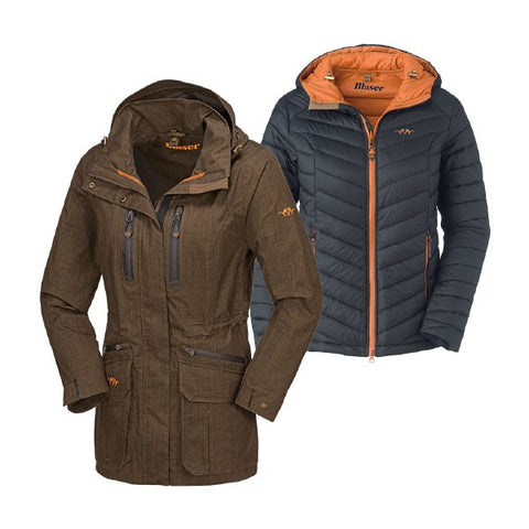 Blaser Hybrid 2 in 1 WP Jacket Ladies - Wildstags.co.uk
