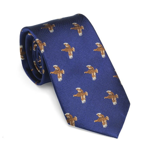 Laksen Grouse Tie - Wildstags.co.uk