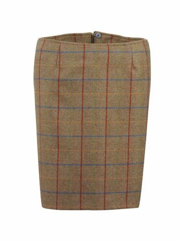 Laksen Melville Ladies Tweed Skirt - Wildstags.co.uk