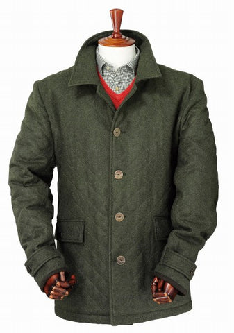 Laksen Zug Loden Coat - Wildstags.co.uk