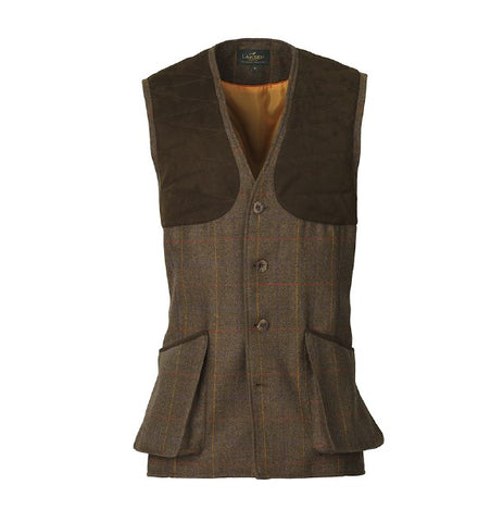 Laksen Grouse Tweed Vest - Wildstags.co.uk