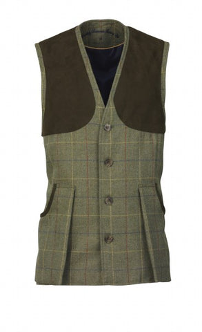 Laksen Woodhay Tweed Vest - Wildstags.co.uk