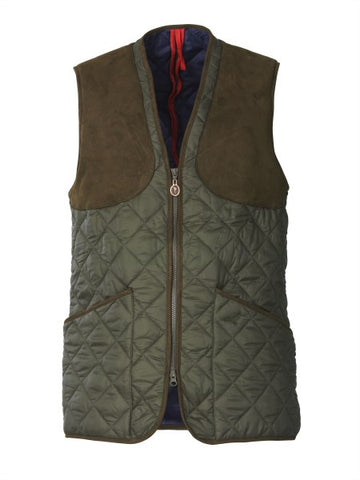 Laksen Ludlow Primaloft Quilted Shooting Vest - Wildstags.co.uk