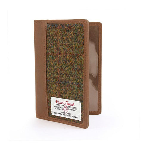 British Bag Company Stornoway Harris Tweed Passport Wallet - Wildstags.co.uk