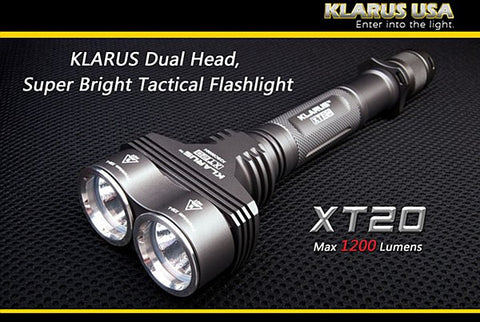 Klarus XT20 Flash Light - Wildstags.co.uk