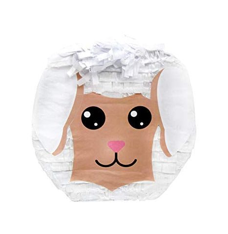 Cute Little Lamb Easter Pinata