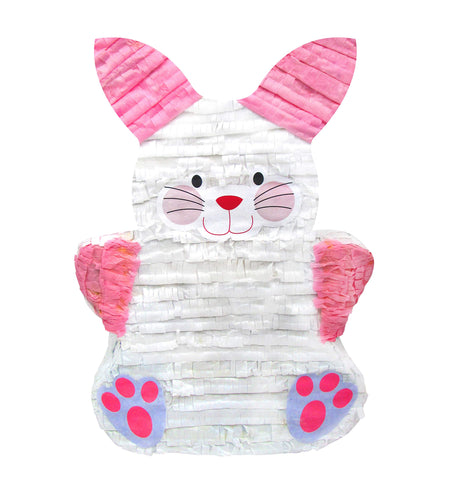 Cute Easter Bunny Pinata White