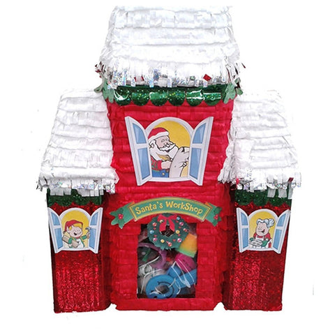 Christmas Santas Workshop Pinata