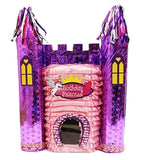 Holographic Pink Princess Castle Pinata