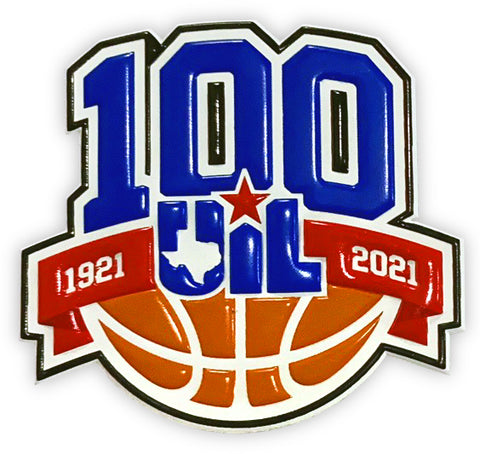 100 Years of UIL Basketball TPU Patch