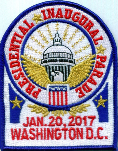 Inaugural Parade Patches & Pins