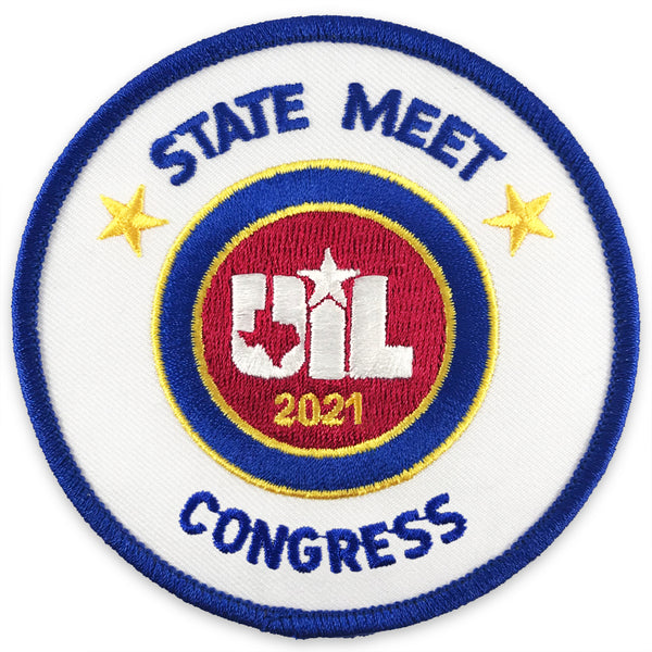 UIL Academic - Congress State and Regional Patches