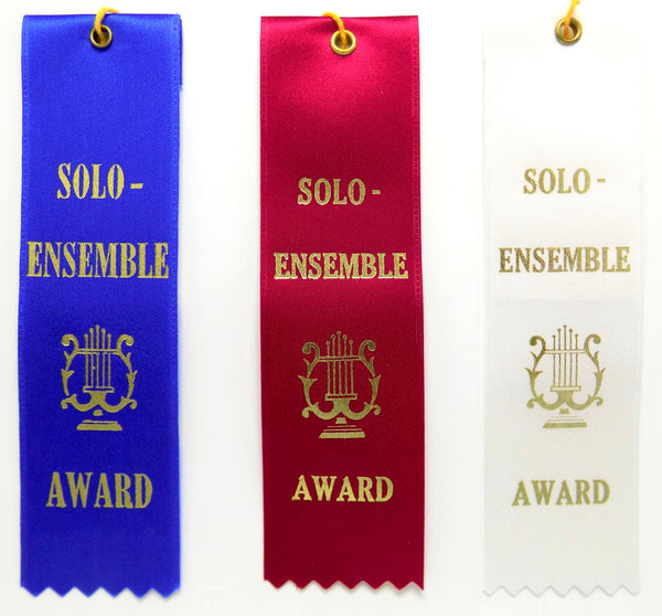 Solo-Ensemble Stock Award Ribbons