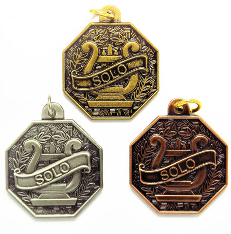 Solo Music Medals