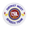 UIL Academic Patches - Events Speech Team thru Team Championship