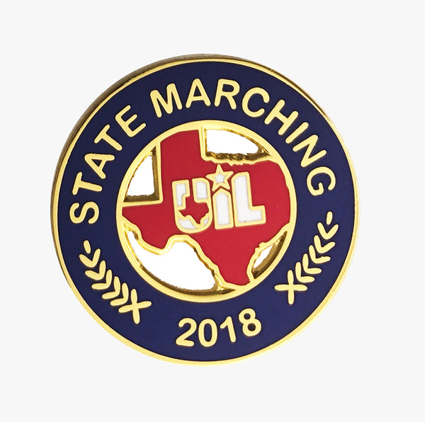 UIL State Marching Pin