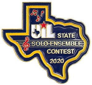 UIL State Solo-Ensemble Contest Pin