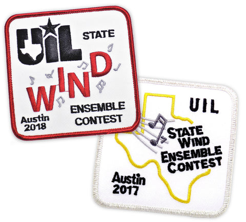 UIL State Wind Ensemble Contest Austin Patches