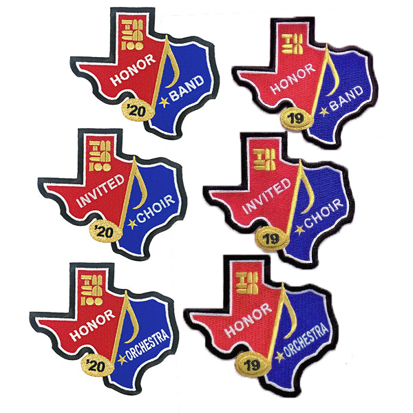 TMEA Honor & Invited Patches